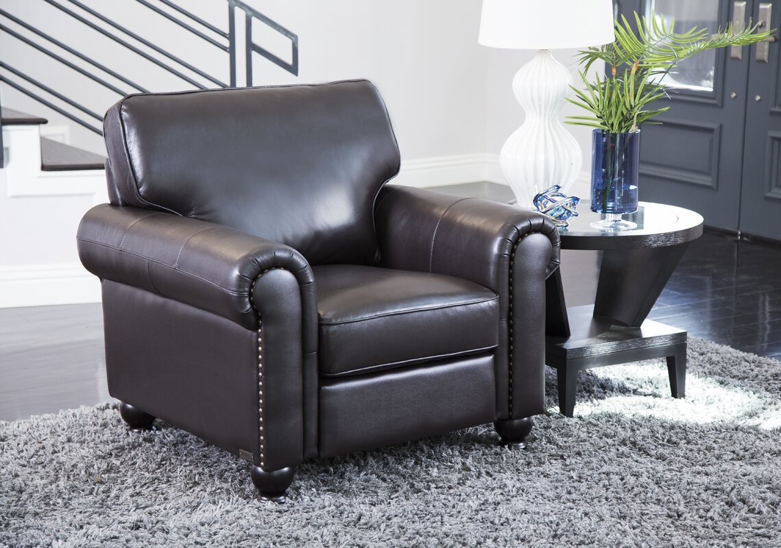 Coggins Leather 3 Piece Living Room Set Reviews Birch Lane