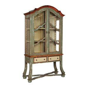 Chapeau Standard Curio Cabinet by August Grove