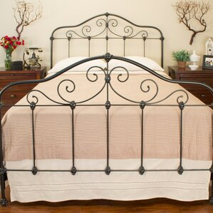 Chardonnay Panel Bed by Benicia Foundry and Iron Works