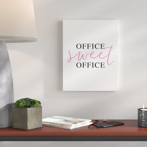 Work Office Wall Art   Wayfair