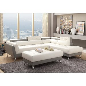New Rochester Sectional  sc 1 st  Wayfair : pleather sectional - Sectionals, Sofas & Couches