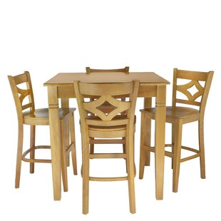 Mignone 5 Piece Pub Table Set