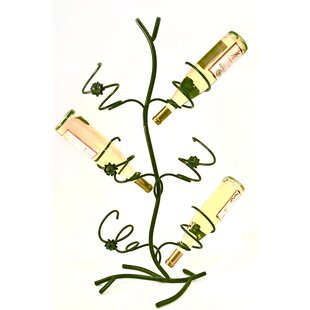 Wild Rose 6 Bottle Tabletop Wine Rack