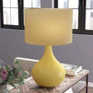 Table Lamp With Yellow Shade Wayfair