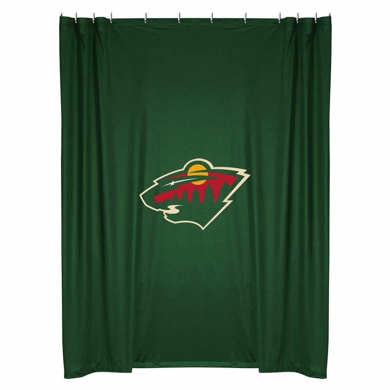 Sports Coverage Nhl Shower Curtain Amp Reviews Wayfair