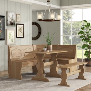 Padstow 3 Piece Breakfast Nook Dining Set