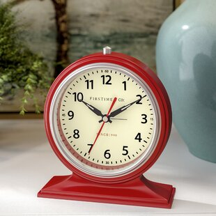 Mantel & Tabletop Clocks You'll | Wayfair