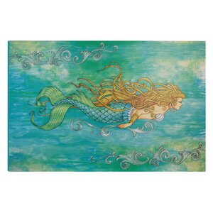 'I Sea Life Siren of the Sea Mermaid' Graphic Art on Wrapped Canvas