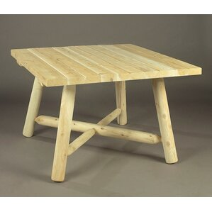 Dining Table by Rustic Natural Cedar Furn..