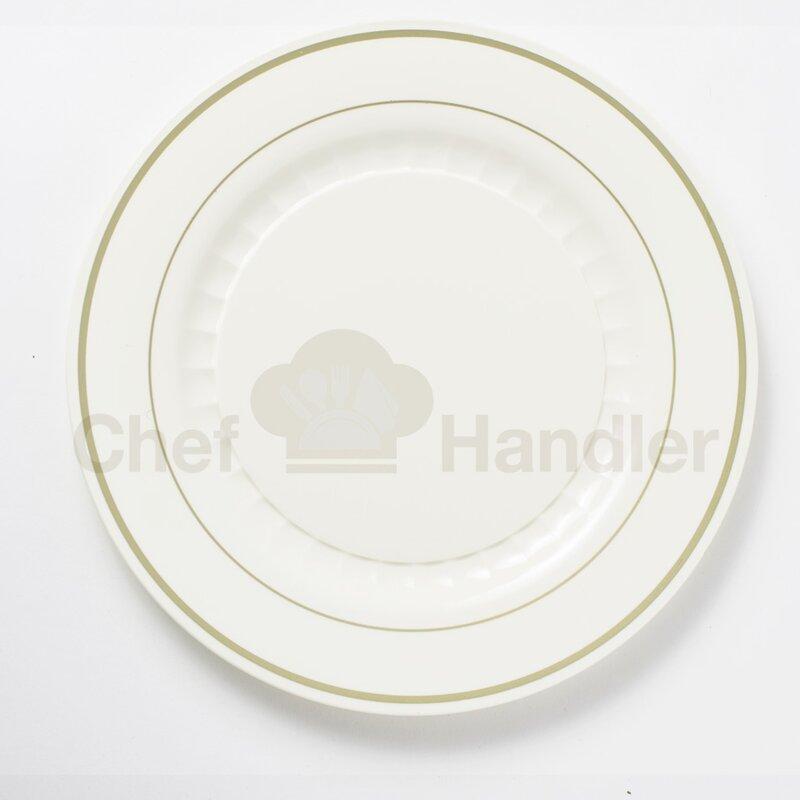 Mystique 340 Piece Fine Heavy Duty Plastic Plate Set & Heavy Duty Plastic Plates | Wayfair