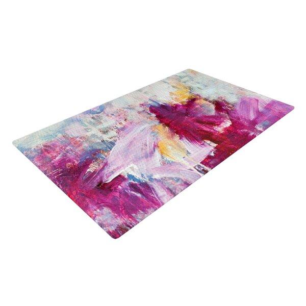 Perfect KESS InHouse Magenta Indoor/Outdoor Area Rug U0026 Reviews   Wayfair