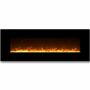 Empire Crystal Linear Wall Mount Electric Fireplace by Gibson Living