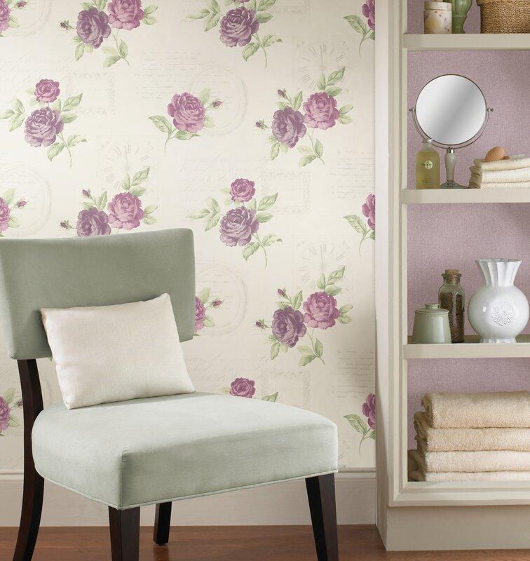 Brewster home fashions bath bath bath volume iv venetia for Wayfair bathroom wallpaper