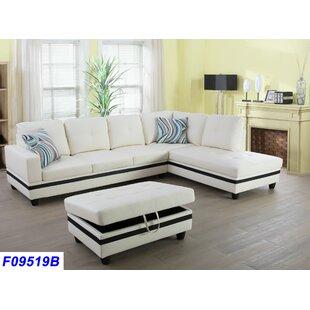 Off White Sectional Sofa | Wayfair