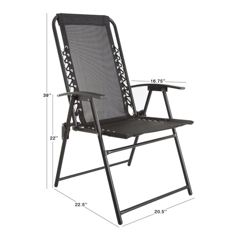 Suspension Folding Beach Chair