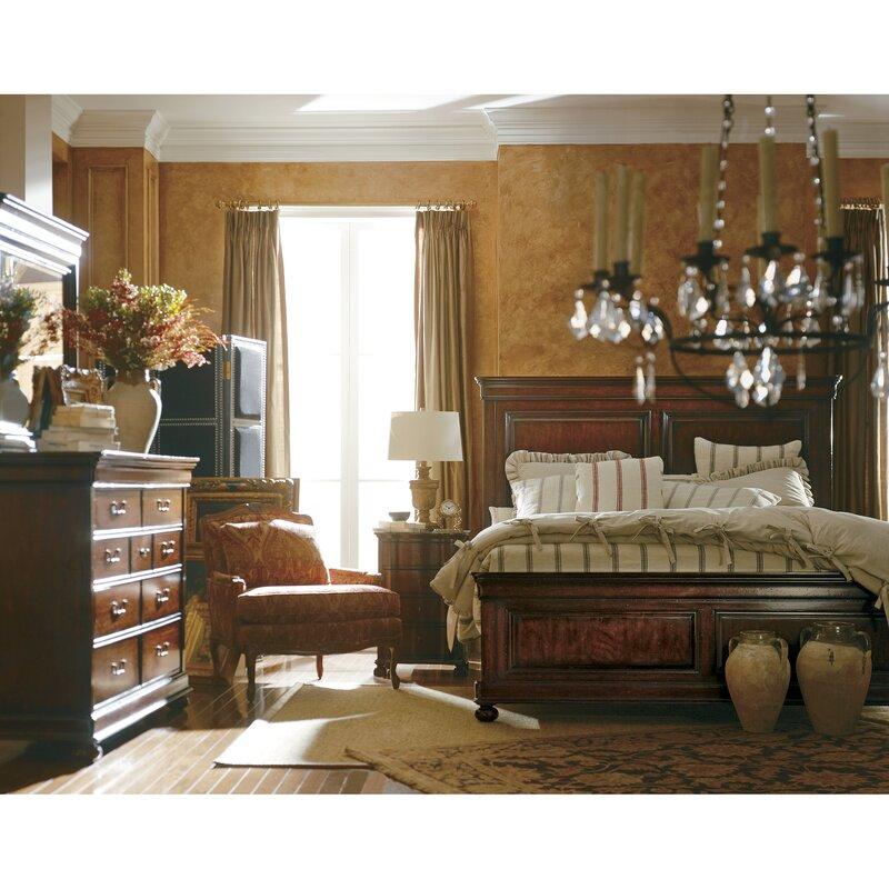 The Classic Portfolio Louis Philippe Panel Configurable Bedroom Set