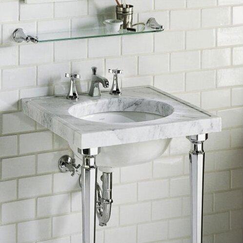 Kathryn Metal 24 Console Bathroom Sink