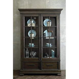Seamans Lighted China Cabinet
