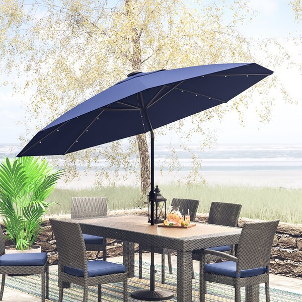 Attirant Rain Proof Patio Umbrellas | Wayfair