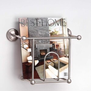 Wall Hanging Magazine Rack magazine holders & racks you'll love | wayfair