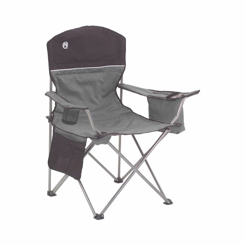 Coleman Oversize Quad Chair With Cooler Reviews Wayfair