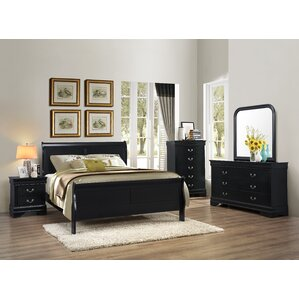 Guffey Panel Customizable Wood Bedroom Set by Laurel Foundry Modern Farmhouse