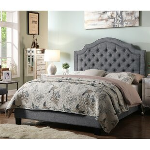 b8b79bcd66 Grey Upholstered Beds You'll Love in 2019 | Wayfair
