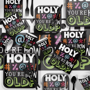 Holy Bleep Birthday Party Supplies Kit