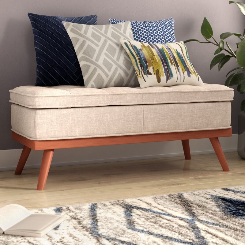 Ronquillo Upholstered Storage Bench