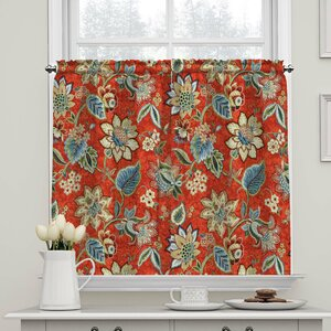 Brighton Blossom Tier Curtain (Set of 2)