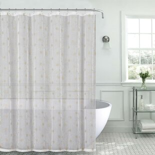 cool fabric shower curtains. Mirtha Metallic Daisy Embroidered Sheer Fabric Shower Curtain Cool Curtains