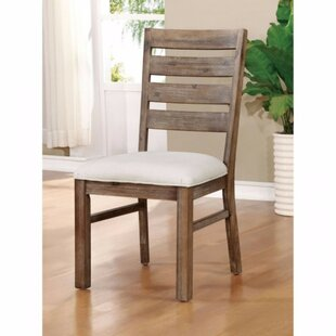 Avila Industrial Upholstered Dining Chair (Set of 2)