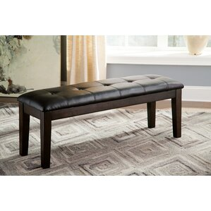 Bartons Bluff Wood/Upholstered Bench by R..