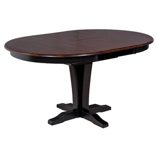 Maryrose Solid Wood Drop Leaf Solid Wood Dining Table