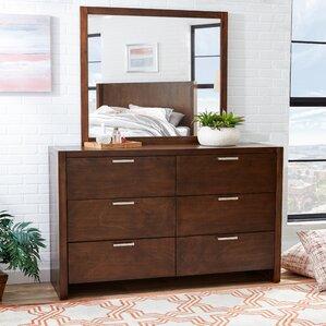 Capricorn 6 Drawer Dresser by Mercury Row