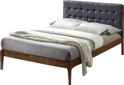 clemente wood platform bed - Wooden Platform Bed Frame