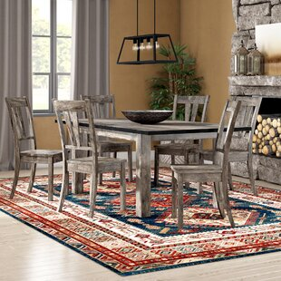 Wimbish 7 Piece Wood Dining Set