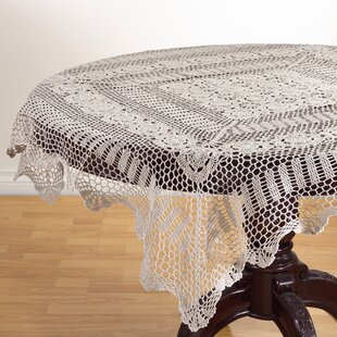 Beau Le Crochet Lace Tablecloth