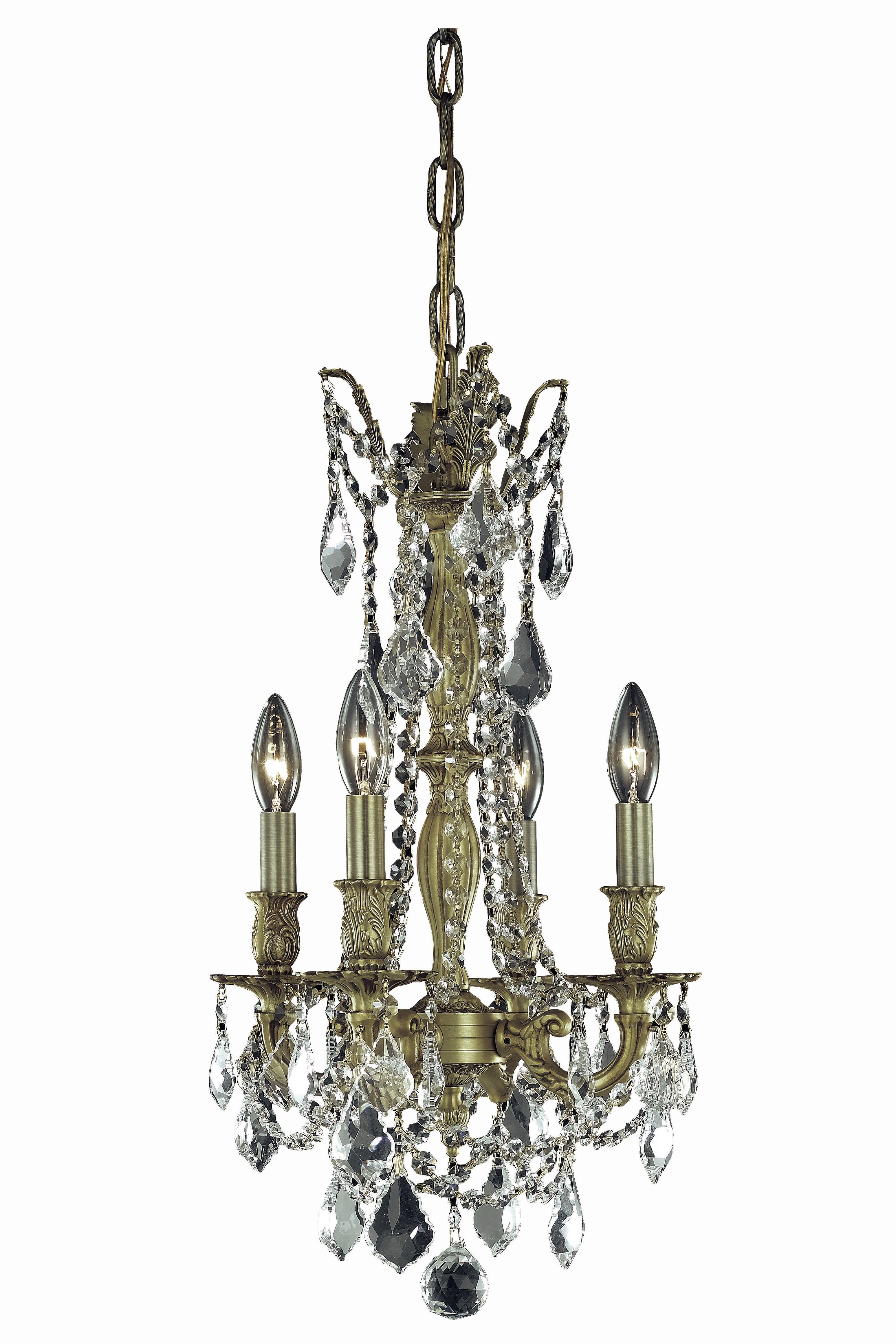 Astoria grand utica 4 light candle style chandelier wayfair