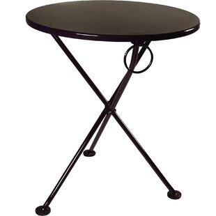 European Café Folding Bistro Table