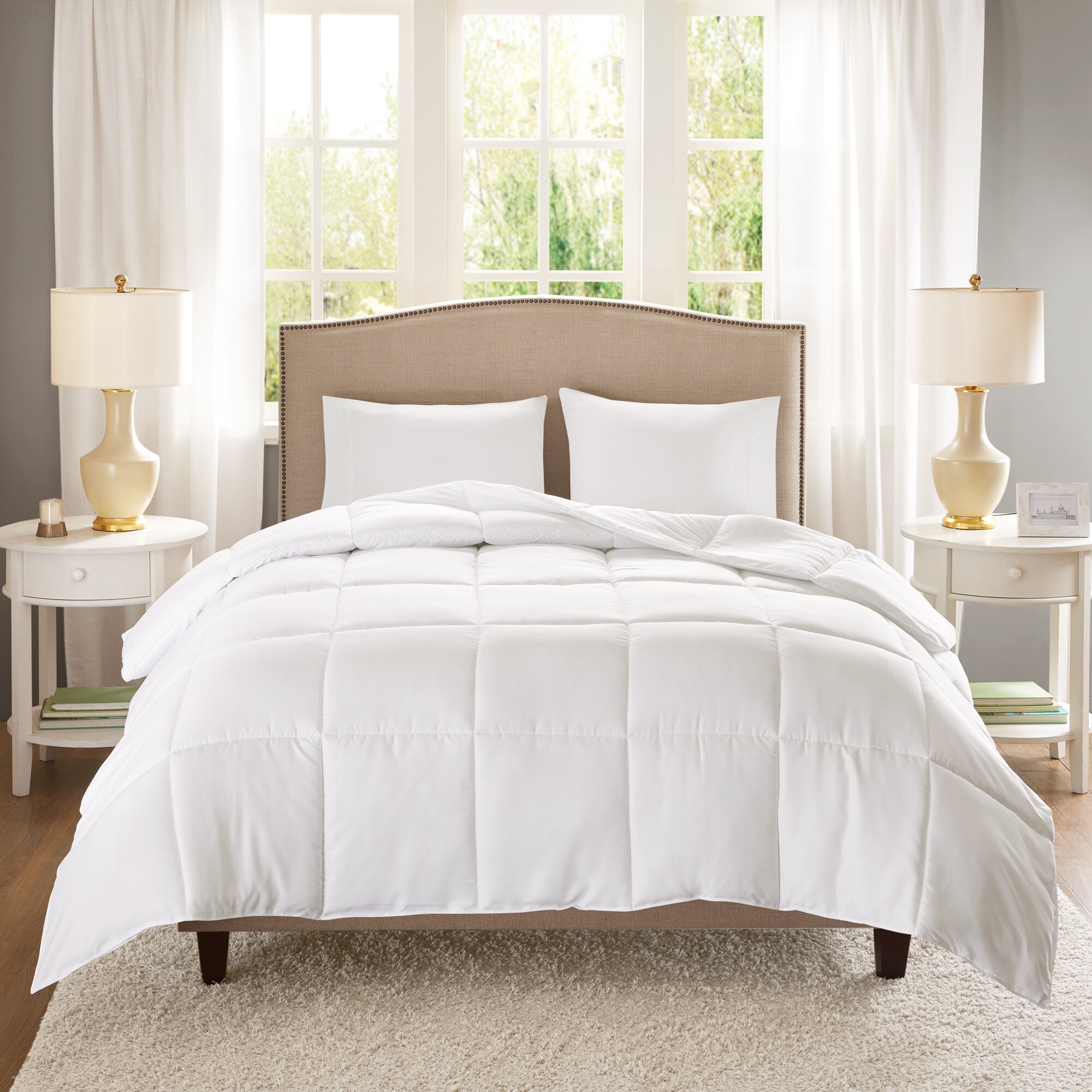 alternative down com fccd comfort ip set scotchgard comforter windsor walmart home classics reversible