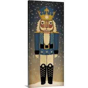 'Nutcracker III - Nighttime Background' by  Ryan Fowler Graphic Art on Wrapped Canvas