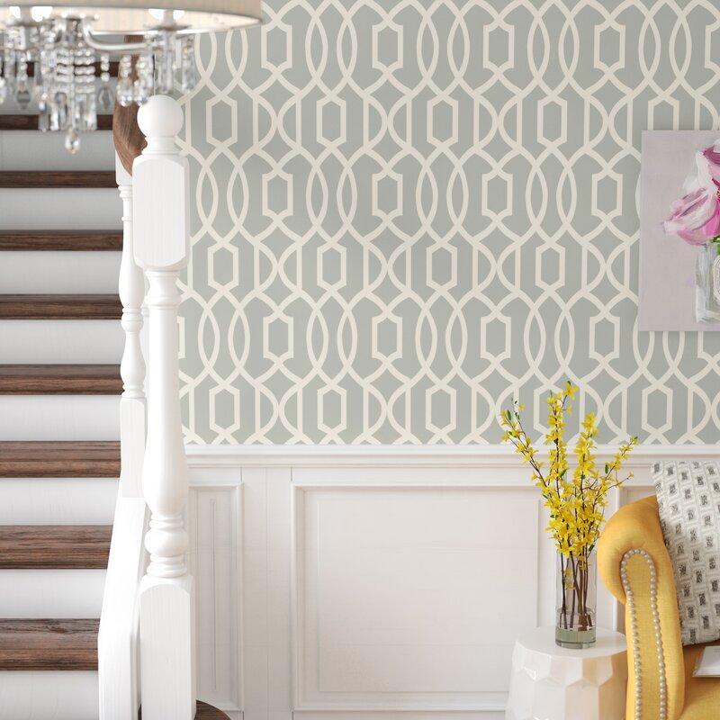 "House of Hampton Montleban 18' x 20.5"" Wallpaper Roll ..."