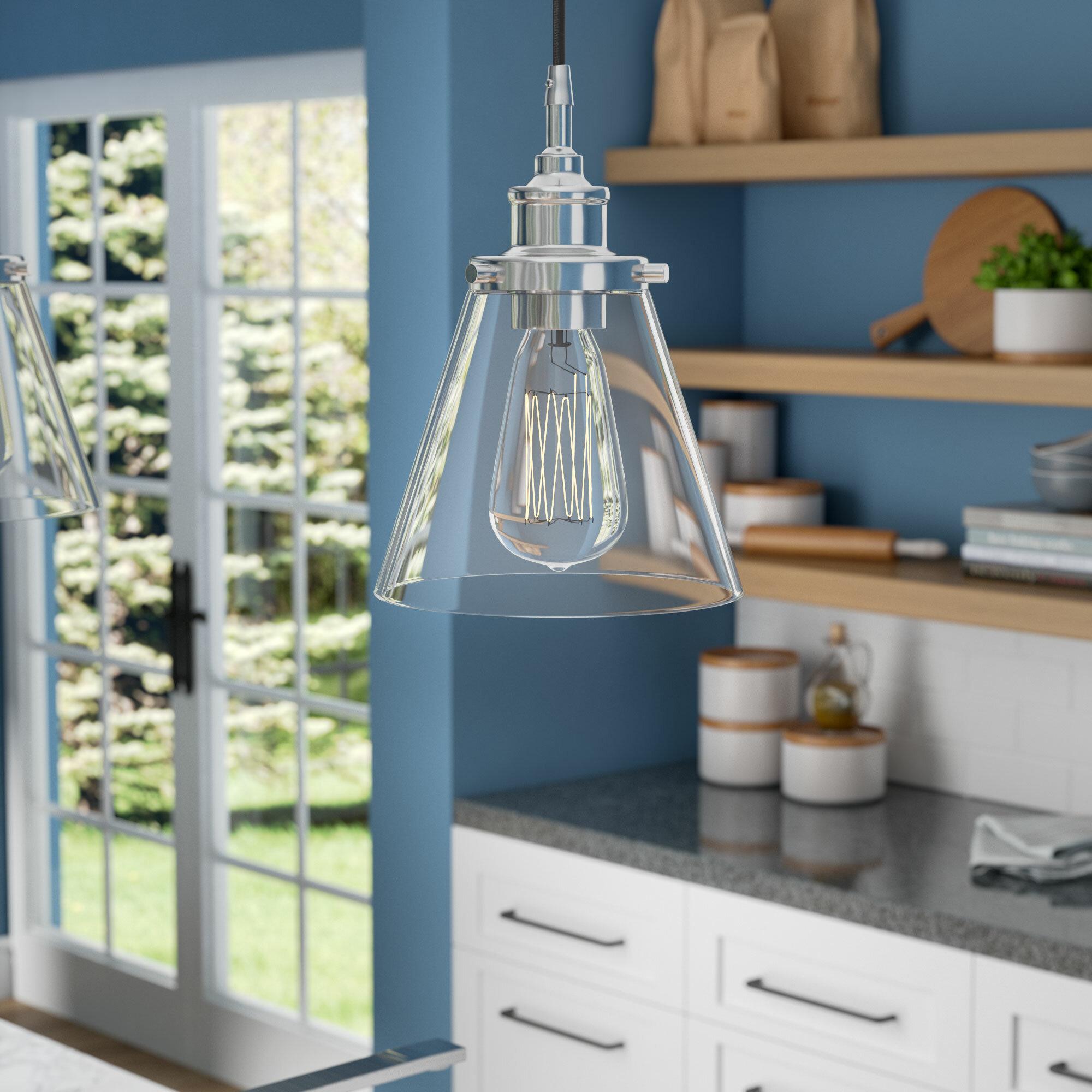 Three Posts Aldford 1-Light Bell Pendant & Reviews | Wayfair
