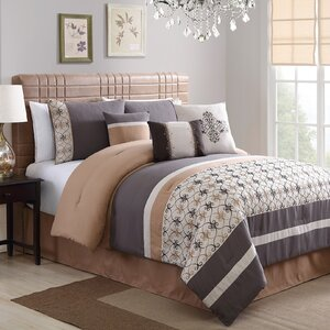 Splendor Embroidered 7 Piece Comforter Set