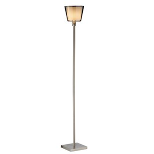 Tall skinny floor lamps wayfair prescott tall 7175 torchiere floor lamp mozeypictures Image collections