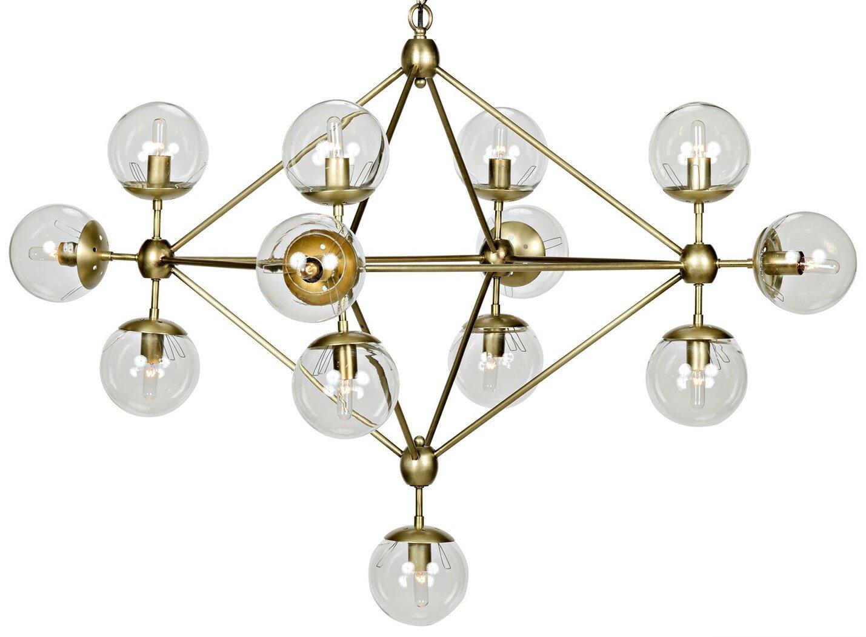 new erin mid spain sputnik midcentury brass century lighting chandelier source style