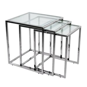 3 Piece Nesting Tables by RMG Fine Imports