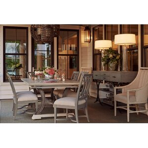 Blackburn 9 Piece Dining Set by Rosecliff Heights