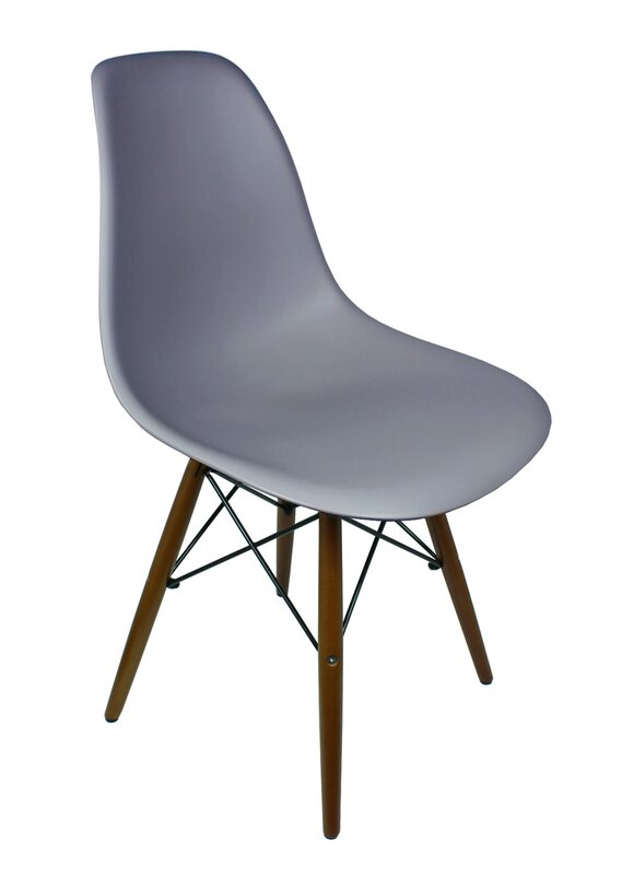Nice Harrison Matte Solid Wood Dining Chair